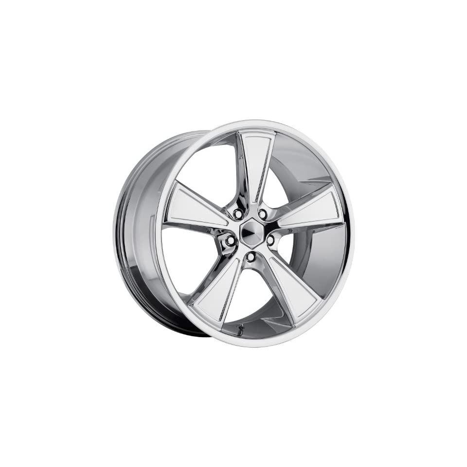 Ultra Hustler 17 Chrome Wheel / Rim 5x4.5 with a 35mm Offset and a 73 Hub Bore. Partnumber 431 7866C+35