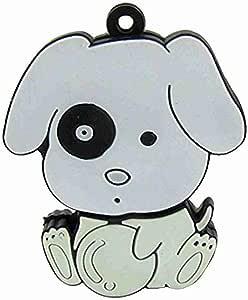 Movimiento y movimiento (TM) Caucho perro de dibujos