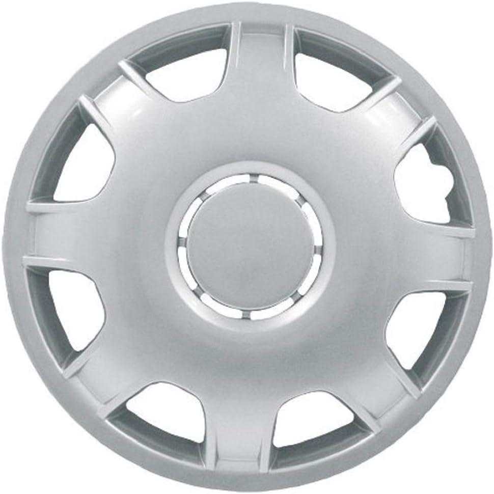 Petex Rb514215 Radzierblende Speed Größe 15 Zoll 2 Fach Lackiert Material Abs In Box Silber 4 Er Set Auto