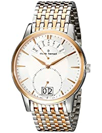 Claude Bernard Men's 34004 357RM AIR Classic Gents Analog Display Swiss Quartz Two Tone Watch