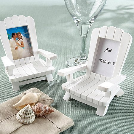 Adirondack Chair Frame/Placecard Holder White 4-Pack by Adirondack Chair Frame/Placecard Holder White 4-Pack