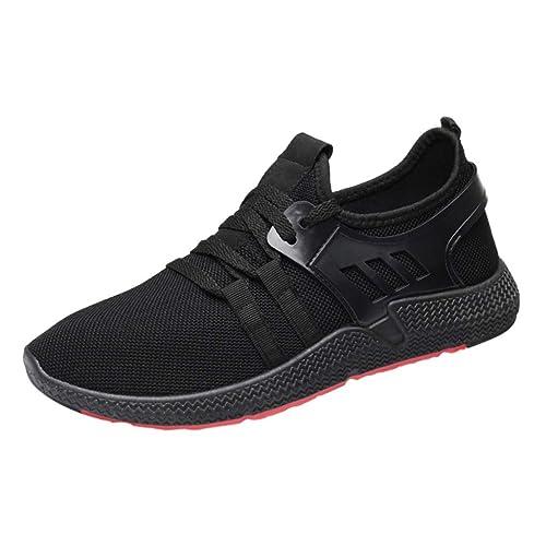 5e30c68ee5f31a Herren Mode Turnschuhe Casual Lace-Up Leichte Fashion Atmungsaktive  Laufsportschuhe Sneakers Sport Freizeitschuhe
