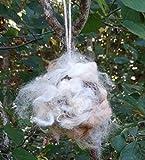 Alpaca Fiber Bird Nesting Ball with Refill Fiber - Comfort for your wildlife