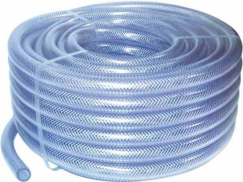 Hilon PVC Reinforced Hose 1//2  ID X 3//4  OD 25 FT