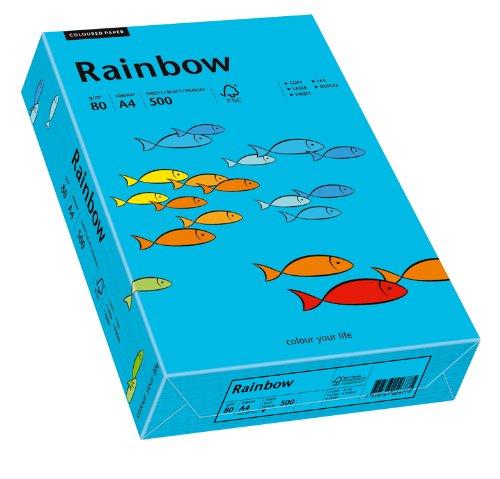 Papyrus Multifunktionspapier Multifunktionspapier Multifunktionspapier Rainbow, DIN A4, 80 g qm, blau, 500 Blatt, 5er Packung B07522XPR3   Komfort  66600f
