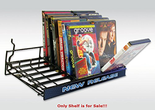 Case of 4 New Black Universal Flip'N Browse Shelf 18''W x 7.25''D by Browse Shelf