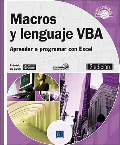 Libro programación VBA