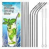YIHONG Reusable Stainless Steel Metal Straws
