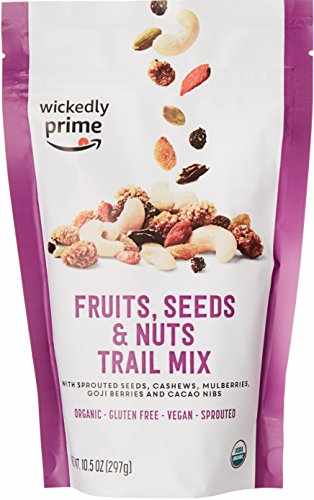 Wickedly Prime Organic Sprouted Trail Mix, Fruits, Seeds & Nuts, 10.5 ()