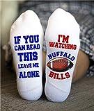 Buffalo Bills Socks Birthday Gift American Football Game Day
