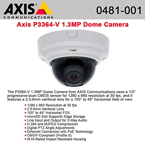 AXIS P3364-V 6mm - network camera (0481-001) -