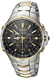 Seiko Men's 'COUTURA' Quartz Stainless Steel Casual Watch, Color:Two...