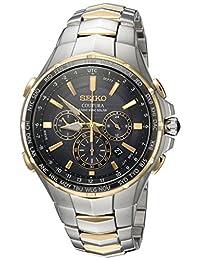 Seiko - Reloj de cuarzo para hombre, estilo casual, de acero inoxidable, color dos tonos (modelo: SSG010)