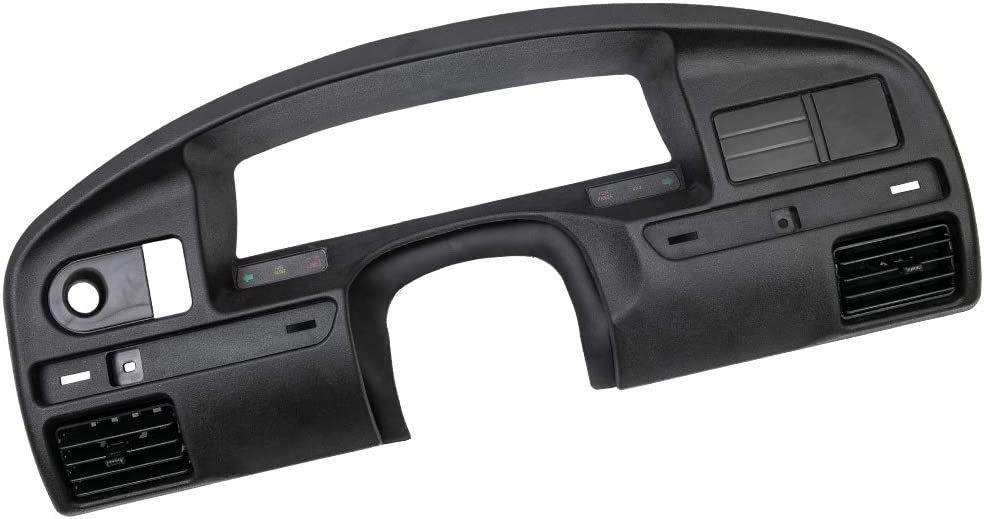 CHEDA New Dash Instrument Cluster Panel Bezel for Ford F-150 F-250 F-350 Super Duty with Gas Engine 1994-1997 Replacement