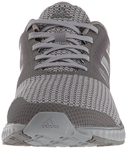 adidas Herren Edge Rc M Laufschuh Grau / Metallic Silber / Granit
