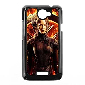 HTC One X Cell Phone Case Black hd25 the hunger games mockingjay part three X2W8GK