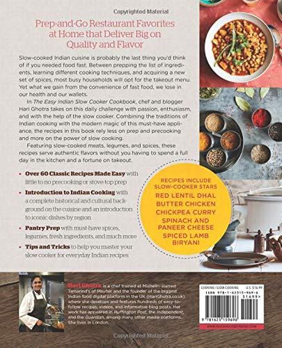 The Easy Indian Slow Cooker Cookbook Prep And Go Restaurant