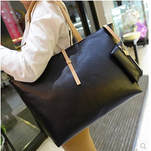 Aoligei Boucle de ceinture version coréenne sac femme célibataire Chao Pu sac à bandoulière grand sac sac petit changement C