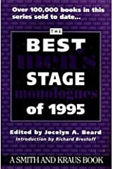 The Best Men's Stage Monologues of 1995 Paperback