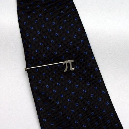 ZAUNICK Pi Tie Clip Sterling Silver by ZAUNICK (Image #2)