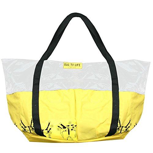 Bag to Life Tasche Airlie Beach Bag weiß - Shopper, Strandtasche