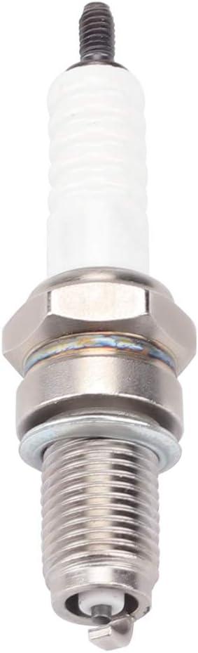 Wetenex DPR8EA-9 Resistor Spark Plugs DPR8EA9 Motorcycle Spark Plug Pack of 8