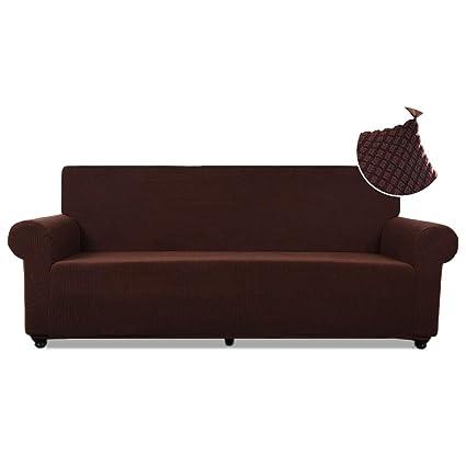 Amazon.com: TASTELIFE Sofa Slipcover 1-Piece Thickened Stretch ...