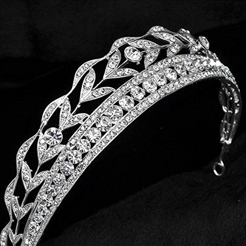 Sunshinesmile Wedding Crystal Rhinestone Headband product image
