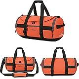 Businda Travel Backpack, Gym Soccer Training Handbag Duffle Bag with Adjustable Strap Storage Tote for Men Women