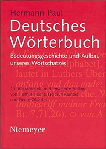 Deutsches Worterbuch (German Edition)