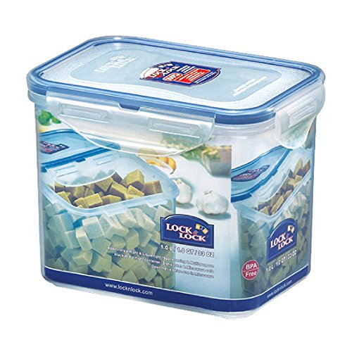 LOCK & LOCK 33-Fluid Ounce Rectangular Food Container, Tall, 4.1-Cup