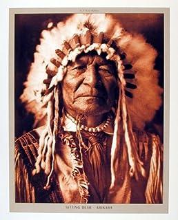 Amazon.com: Two Moons Cheyenne Edward Curtis Native American ...