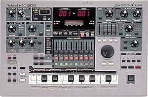 roland mc 505 mc505 groovebox sequencer sampler midi controller drum machine. Black Bedroom Furniture Sets. Home Design Ideas