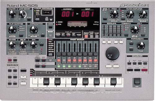 Roland MC505 Groovebox Sequencer Controller
