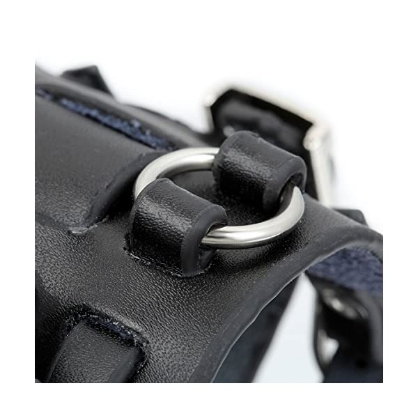 Avaner Mens Retro Steampunk Rock Black Wide Leather Bracelet Cuff Watches Big Face Round Dial Analog Quartz Sport Watch… 5
