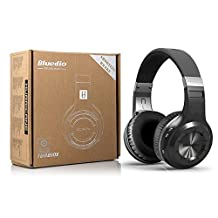 SmartOmni Bluedio Hurricane Turbine H Headphone Bluetooth 4.1 Stereo Headset Wireless Handsfree Earphone Black