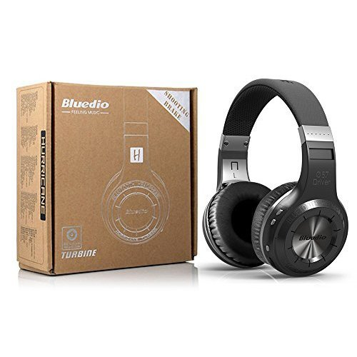 SMARTOMI V4.1 Bluetooth Headphones Over Ear, Wireless Bluetooth On-ear Stereo Earphones Noise Cancelling, Soft Memory-Protein Earmuffs, w/ Mic