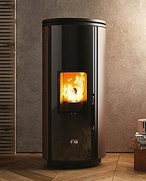 Cola estufas de pellets 8,27 kW Elegant hermético la12130y: Amazon.es: Hogar