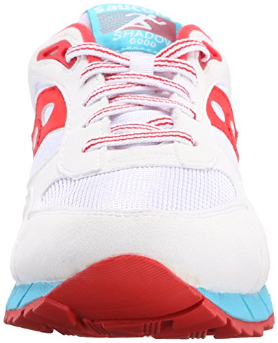 Saucony Shadow 6000 - Zapatillas Unisex adulto Varios colores (Varios colores (White / Red))