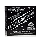 manic panic hair dye white - Manic Panic Flash Lightning Bleach 30 Volume Box Kit