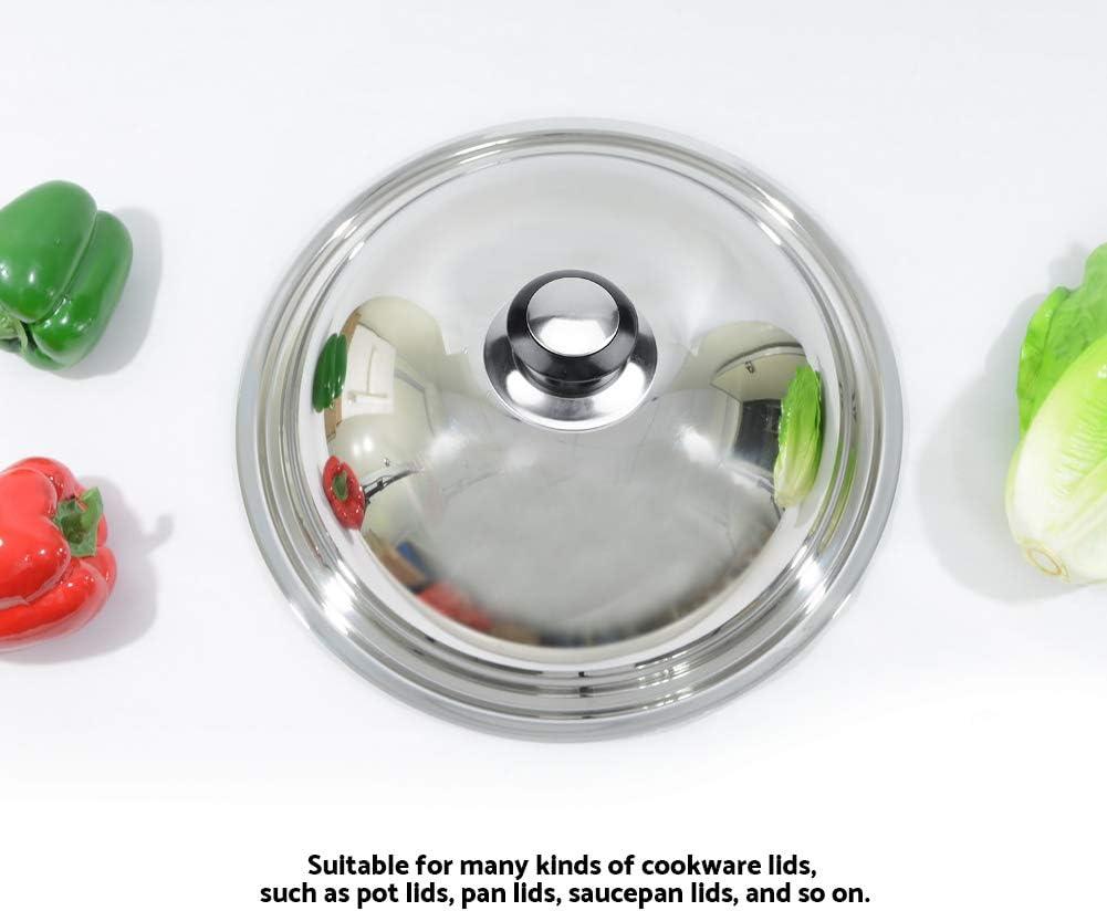 Akozon Perilla de tapa de olla 5 piezas Perilla de tapa de olla resistente al calor Manija de elevaci/ón Piezas de repuesto para utensilios de cocina para el hogar
