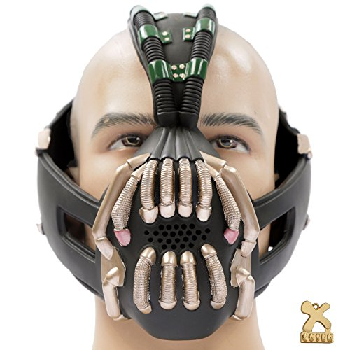 Bane Mask Replica Bronze Version Adult Size for Batman the Dark Knight Rises Xcoser ()