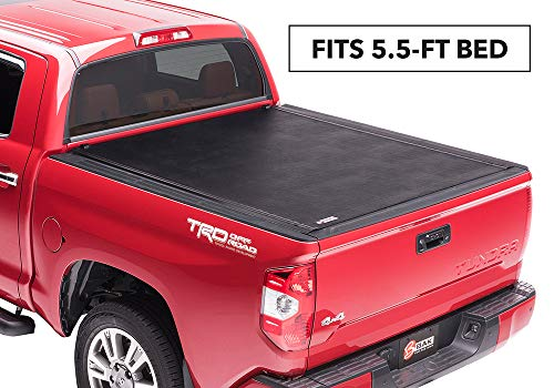 BAK Revolver X2 Hard Rolling Truck Bed Tonneau Cover | 39409T | Fits 2007-20 Toyota Tundra, w/OE track system 5'6
