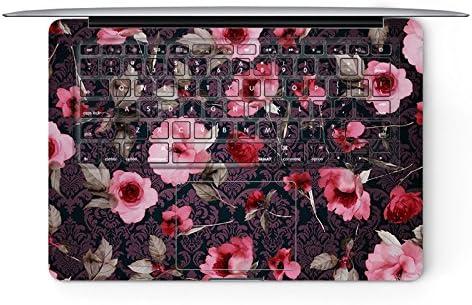 artisticdecals flores rosas Macbook pro de 13 pulgadas con ...