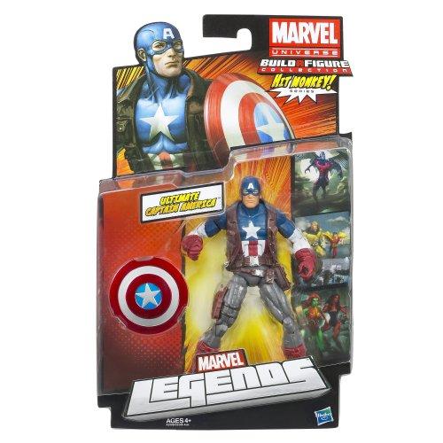 Marvel Ultimate Captain America Figure 6 Inches