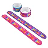9'' Ice Cream Slap Bracelets, Assorted Colors. One Dozen.