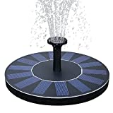 Features:★Solar powered completely, no battery or wire needed, Eco-friendly and saving energy.★Easy to use, floating it on the water and ensure solar panel get full sunlight, spray beautiful water flow in 3 seconds automatically.★Assemble sprayer hea...
