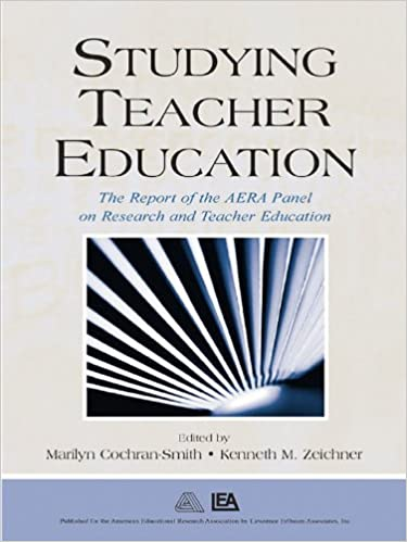 Tenne ebooks laste ned ipad Studying Teacher Education: The Report of the AERA Panel on Research and Teacher Education DJVU B000SFXNOC