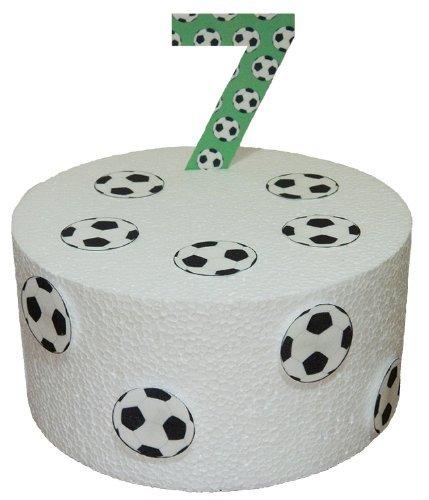 Amazon.com: Fútbol precortado Cumpleaños Número 7 & Fútbol ...