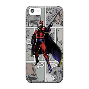Hard Plastic Iphone 5c Cases Back Covers,hot Magneto Comics Cases At Perfect Customized